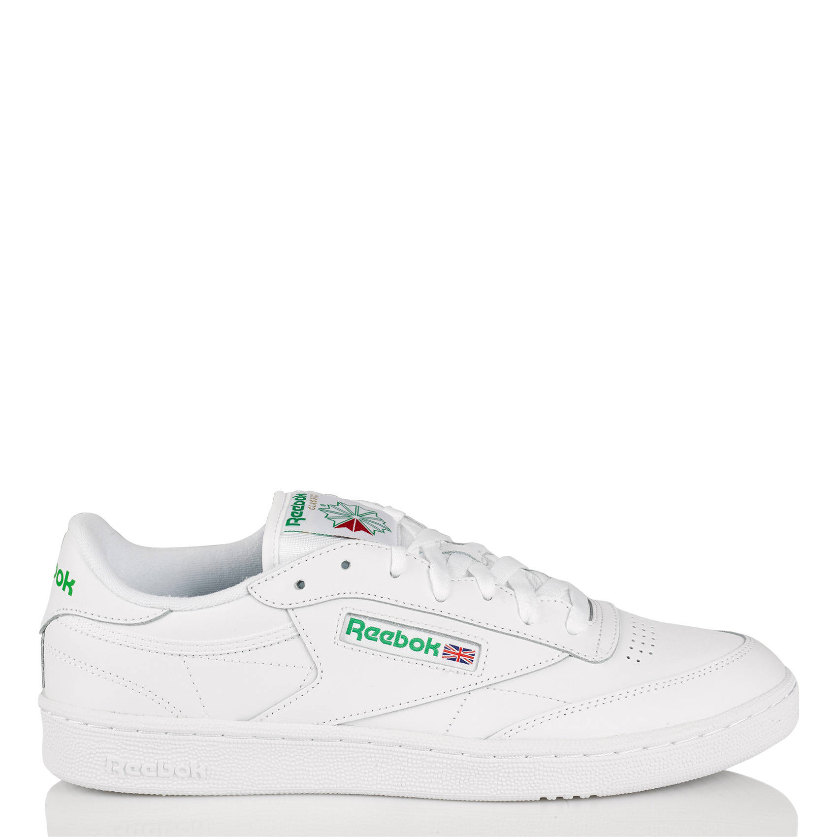 reebok white trainers